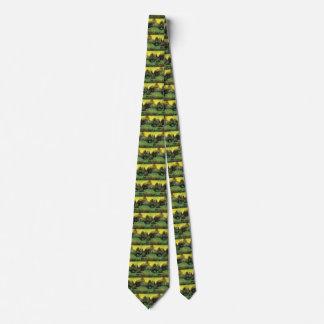 Van Gogh The Poet's Garden Vintage Nature Fine Art Neck Tie