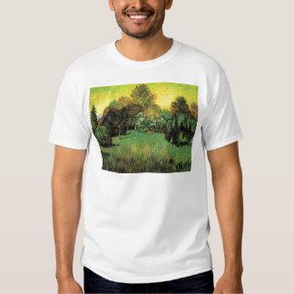 Van Gogh The Poet's Garden Vintage Nature Fine Art T-Shirt