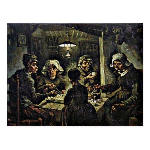 Van Gogh _ The Potato Eaters Postcard
