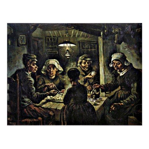 Van Gogh - The Potato Eaters Post Cards