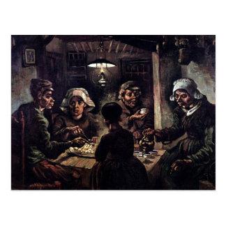 Van Gogh - The Potato Eaters Post Card