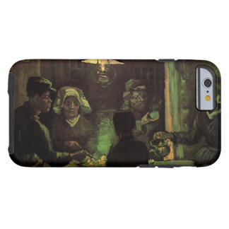 Van Gogh; The Potato Eaters, Vintage Impressionism Tough iPhone 6 Case