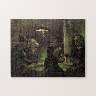 Van Gogh; The Potato Eaters, Vintage Impressionism Jigsaw Puzzle