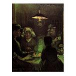 Van Gogh; The Potato Eaters, Vintage Impressionism Postcard