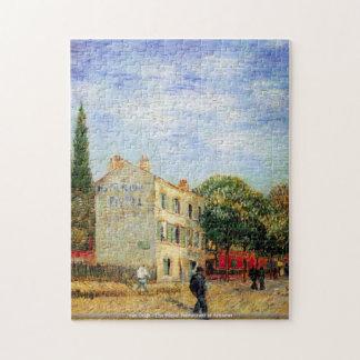 van Gogh-The Rispal Restaurant at Asnieres Puzzle