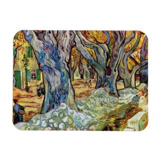 Van Gogh - The Road Menders Magnet