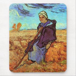 Van Gogh - The Shepherdess Mouse Pad