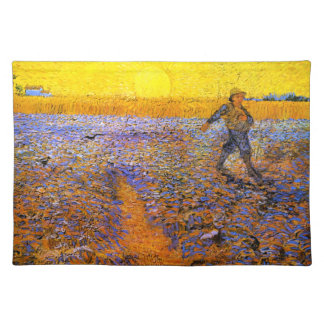 Van Gogh: The Sower Cloth Placemat