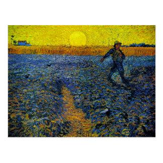 Van Gogh The Sower F 422 Postcards