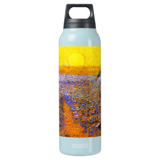 Van Gogh: The Sower Insulated Water Bottle