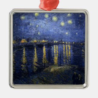 Van Gogh, The Starry Night, 1888 Metal Ornament