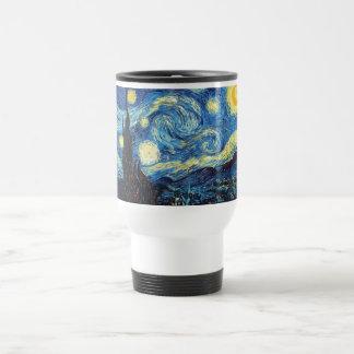 van gogh the starry night 1889 Vintage Art Travel Mug