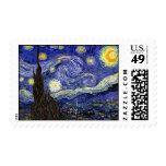 Van Gogh The Starry Night Postage