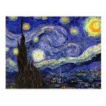 Van Gogh The Starry Night Postcards