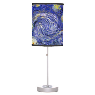 Van Gogh The Starry Night Table Lamps