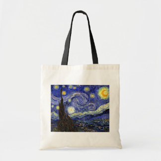 Van Gogh The Starry Night Tote Bags