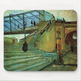 Van Gogh; The Trinquetaille Bridge Mouse Pads