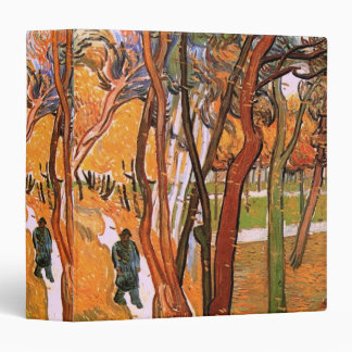 Van Gogh The Walk: Falling Leaves, Vintage Art 3 Ring Binder