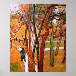 Van Gogh The Walk: Falling Leaves, Vintage Art Print