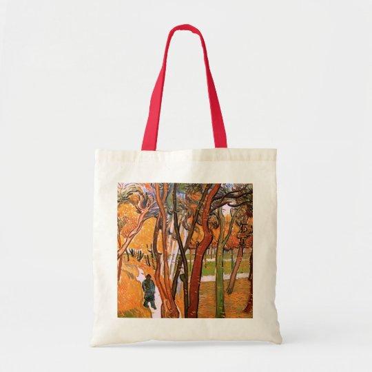 Van Gogh The Walk: Falling Leaves, Vintage Art Tote Bag