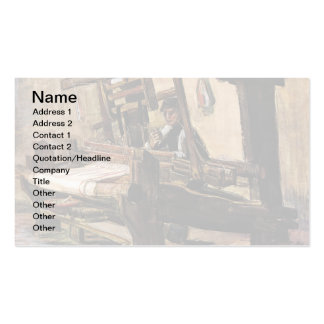 Van Gogh – The Weaver Business Card