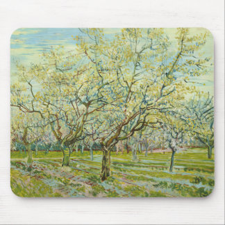 Van Gogh The White Orchard Mouse Pad