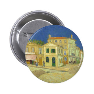 Van Gogh | The Yellow House | 1888 Pinback Button