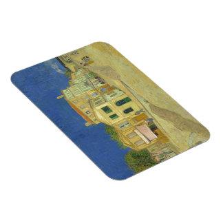 Van Gogh | The Yellow House | 1888 Rectangular Photo Magnet