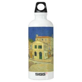 Van Gogh | The Yellow House | 1888 Water Bottle