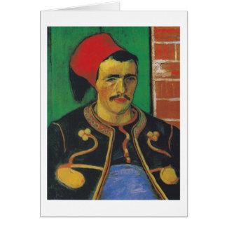 Van Gogh   The Zouave   1888 Card