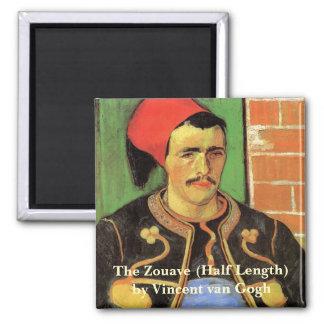 Van Gogh, The Zouave, Vintage Impressionism Art Magnet