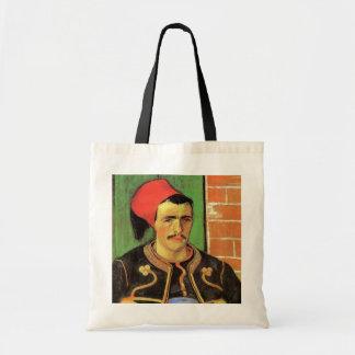Van Gogh, The Zouave, Vintage Impressionism Art Tote Bag