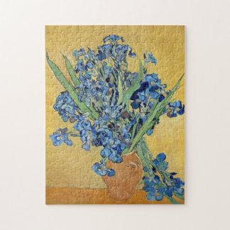 Van Gogh todavía irisa arte floral de la vida de Puzzle
