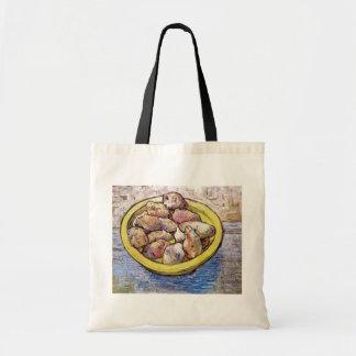 Van Gogh - todavía patatas de la vida en un plato Bolsa