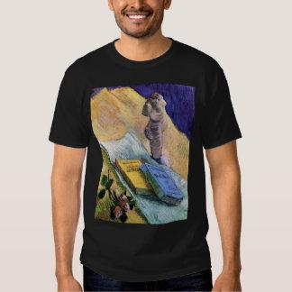 Van Gogh - todavía vida con la figurilla del yeso Playeras