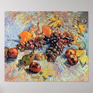 Van Gogh - todavía vida con las manzanas