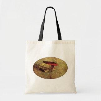 Van Gogh; Todavía vida con tres libros, arte del Bolsa De Mano