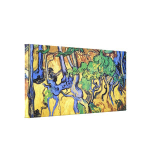 Van Gogh - Tree Roots And Trunks Canvas Print