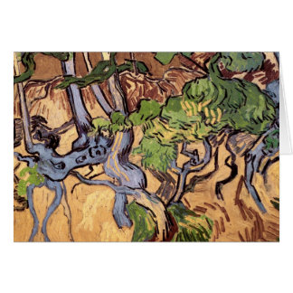 Van Gogh Tree Roots and Trunks (F816) Card