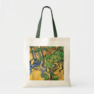 Van Gogh Tree Roots and Trunks, Vintage Fine Art Tote Bag
