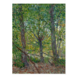 Van Gogh Trees and Underwood(F307) Fine Art Postcard
