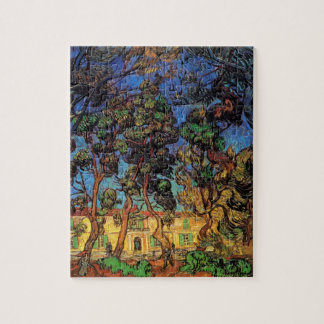 Van Gogh Trees in the Garden, Saint Paul Hospital Jigsaw Puzzle