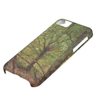 Van Gogh Trees Undergrowth, Vintage Impressionism iPhone 5C Cases