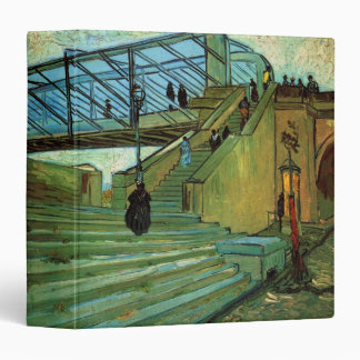 Van Gogh Trinquetaille Bridge, Vintage Fine Art Binder