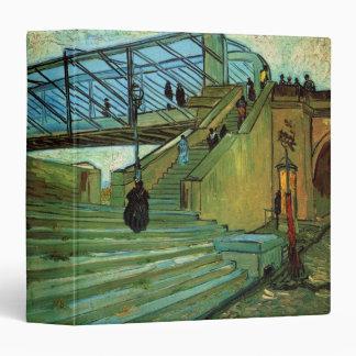 Van Gogh Trinquetaille Bridge, Vintage Fine Art Binder