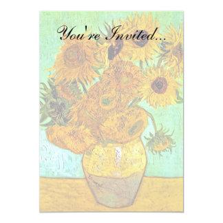 Van Gogh - Twelve Sunflowers Card