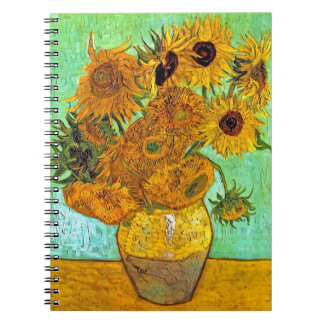 Van Gogh - Twelve Sunflowers Notebooks