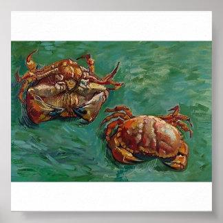 Van Gogh - Two Crabs Print