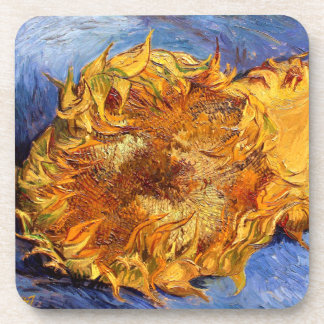 Van Gogh: Two cut Sunflowers Beverage Coaster