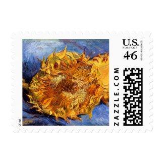 Vincent van Gogh: Two cut Sunflowers